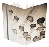 Jellyfish in Motion 4 Notebook by Theo Westenberger