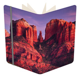 Cathedral Rock of Sedona, Arizona Notebook by Mike Cavaroc