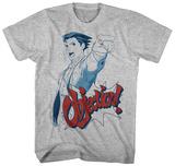 Ace Attorney- Phoenix Wright Objection! T-skjorte