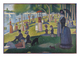 Sunday Afternoon on the Island of La Grande Jatte, 1884-1886 Limited Edition by Georges Seurat