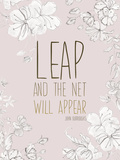 Leap Posters by Anahata Katkin