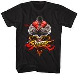 Street Fighter- Sfv Key T-skjorter