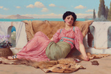 The Quiet Pet Giclee Print by John William Godward