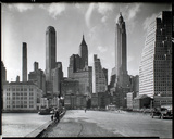 Manhattan Skyline - South Street and Jones Lane, Manhattan Giclée-Druck von Berenice Abbott