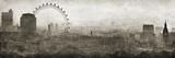 London Landmarks Gicléedruk van Pete Kelly