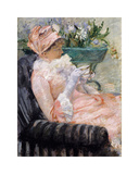 The Cup of Tea, c.1880 - 1881 Premium Giclee Print by Mary Stevenson Cassatt