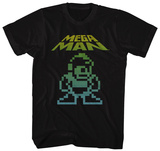 Mega Man- Pixel Hero T-shirts