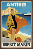 Cruise Antibes Prints by  Collection Caprice