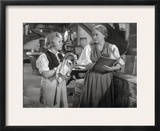 Treasure Island Movie Scene in Black and White Framed Photographic Print by  Movie Star News