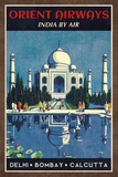 Orient Airways Prints by  Collection Caprice