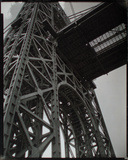 George Washington Bridge, Riverside Drive and 179th Street, Manhattan Giclee Print by Berenice Abbott