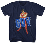 Final Fight- Guy Blue Marquee T-Shirts