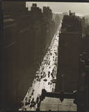 Seventh Avenue looking South from 35th Street, Manhattan Giclée-Druck von Berenice Abbott
