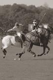 Polo dans le parc I Impression giclée par Ben Wood