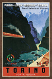 Train Torino Posters by  Collection Caprice