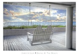 Swing At The Beach Prints by  Celebrate Life Gallery