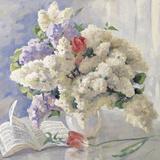 Flowers from Strauss Giclee Print by Valeri Chuikov