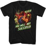 Street Fighter- Never Succeed T-Shirt
