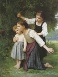 Dans Le Bois Giclee Print by Elizabeth Gardner Bouguereau