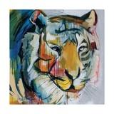 Tiger Tiger Giclee Print by Angela Maritz