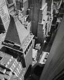 Wall Street, from the Roof of Irving Trust Co. Building, Manhattan Giclee Print by Berenice Abbott