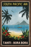 South Pacific Air Giclee Print by  Collection Caprice