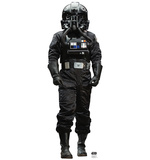 Atmospheric TIE Pilot - Star Wars Rogue One Cardboard Cutouts