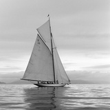 Lady Anne Sailing - Detail Gicléedruk van Ben Wood