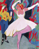 Russian Dancer Giclee Print by Ernst Ludwig Kirchner