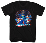 Mega Man- Megaman Team Vs Evil Shirt