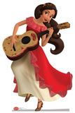 Elena of Avalor with Guitar Cardboard Cutouts