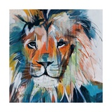 Do You Want My Lions Share Giclee Print by Angela Maritz