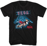 Street Fighter- Vega Fence T-shirts