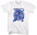 Mega Man- Megablues T-shirts