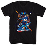 Mega Man- Mega Team-Up T-shirts