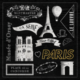 Tom Frazier - Sightseeing in Paris Reprodukce