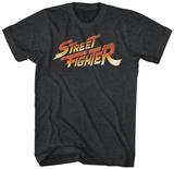 Street Fighter- Logo T-skjorter