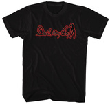 Devil May Cry- Red Sihouette Logo Tshirts