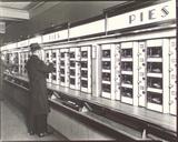 Automat, 977 Eighth Avenue, Manhattan Gicléedruk van Berenice Abbott