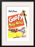 MOTOR MANIA, top right: Goofy, 1950. Art