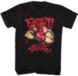 Street Fighter- Fight! T-shirts