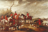 Preparing for the Hunt Giclee Print by John Ferneley