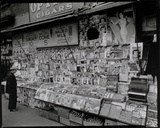 Newsstand, 32nd Street and Third Avenue, Manhattan Giclee Print by Berenice Abbott