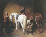 La herrería Lámina giclée por J.F. Herring Senior