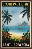South Pacific Air Posters van  Collection Caprice