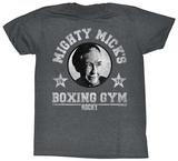 Rocky- Mighty Mick's Gym Logo T-Shirts