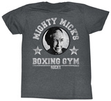 Rocky- Mighty Mick's Gym Logo T-Shirt