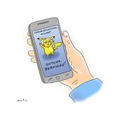 Cartoon Regular Giclee Print by Kim Warp