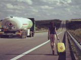 The Road.... Fotografisk tryk af Igor Baranyuk