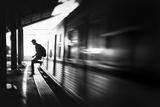 The Station: Rush Arrival Photographic Print by Sebastian Kisworo